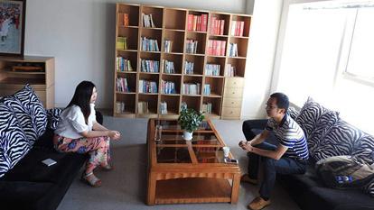 【创客100动态】创客100创投基金投资经理薛丹丹约见青虹云创始人刘林