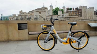 新加坡共享单车oBike抢入伦敦市场 不久后被告知撤回