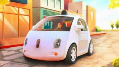 """谷歌申请自动驾驶专利:如果将撞人 车身立刻变""""柔软"""""""