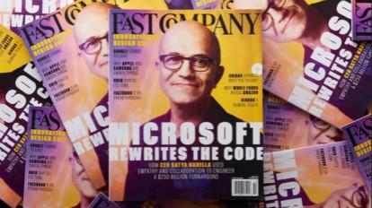 3年市值增长2500亿美元 纳德拉是如何重塑微软的
